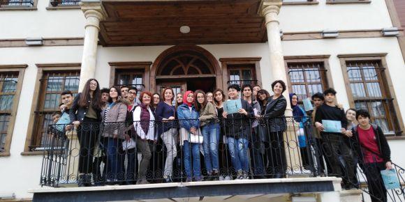 Türk İslam Sanatları Merkezi' ne gezi