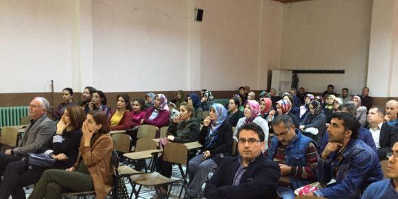 Kırkağaç Atatürk Ortaokulu okul aile Birliği toplantısı yapıldı