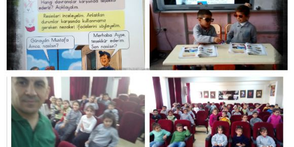 Duvarsız Sınıflar Farkında Yaşamlar etwinning projesi mart ayı çalışmaları tamamlandı