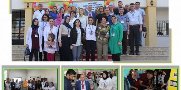 Şahinbey Mesleki ve Teknik Anadolu Lisesinde bilim rüzgarı