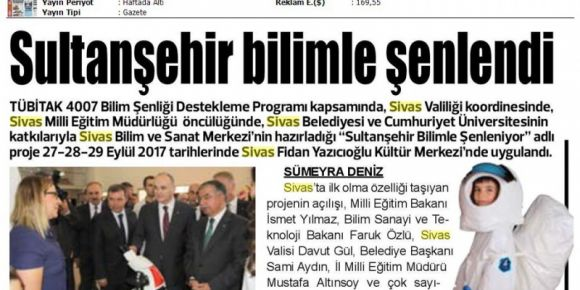 Sultanşehir bilimle şenlendi