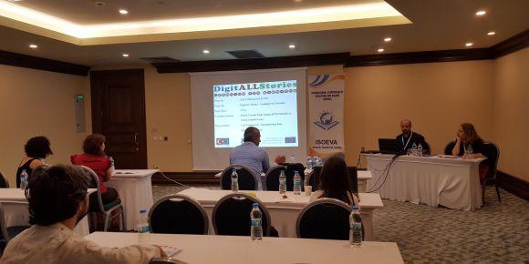 Uluslararası Eğitim ve Değerler Sempozyumu'nda proje tanıtımı