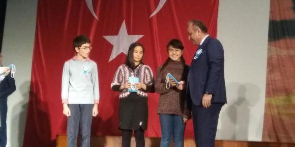Öğrencimiz, Öğretmenler Günü Şiir Yarışmasında Kastamonu 2.si oldu