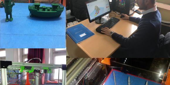 3D Yazıcı Projesi Diyarbakır Ahmet Toprak ÇPAL