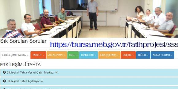 Bursa Fatih Projesi eğitmenleri toplantısı