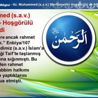 Hz. Muhammed (s.a.v.) Merhametli-Hoşgörülü ve Affediciydi