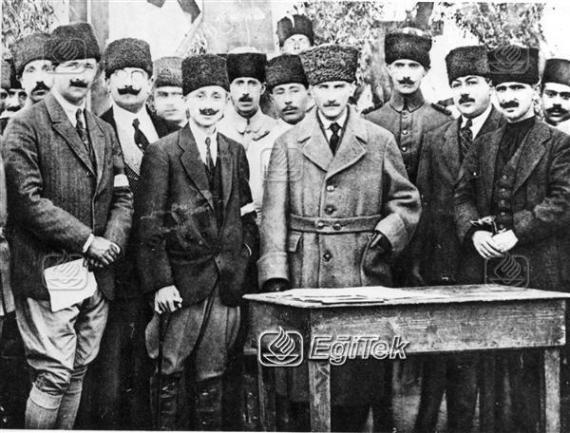 Atatürk, Ankara, 1920