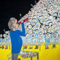 EBA Çizgi 1.Karikatür Yarışması, Öğrenci Kategorisi Sergileme, Aybüke YALPI
