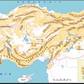 Türkiye nin daglari