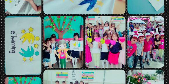 Cumhuriyet İlkokulu eTwinning Günü Şenliği'nde