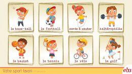 Fransızca'da favori sporunu  infografik yöntemle anlatmak