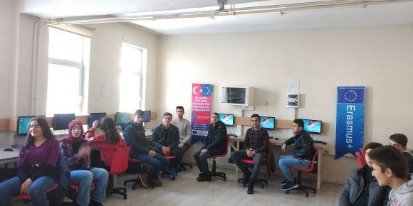 Atatürk MTAL öğrenci ve öğretmenleri Erasmus+ projesi ile Avrupa yollarında.