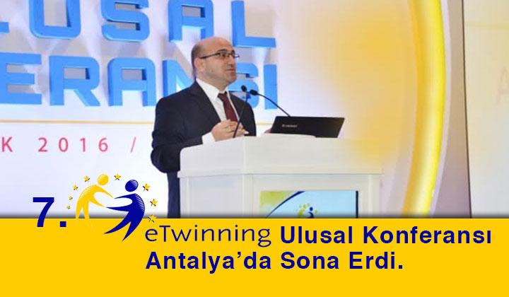 7. eTwinning Ulusal Konferansı Antalya'da Sona Erdi