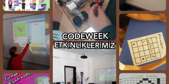 Özel Türmak Okullarında kodlama etkinlikleri
