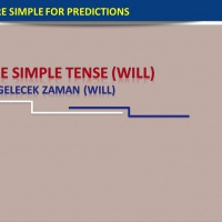 The Simple Future Tense (Will) Gelecek Zaman (Will)