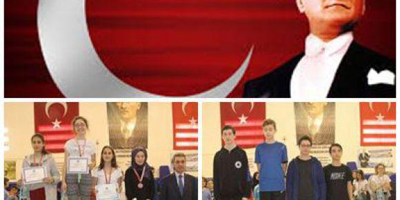 10 Kasım Atatürk kupası masa tenisi müsabakası