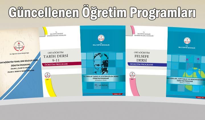 Güncellenen Öğretim Programları