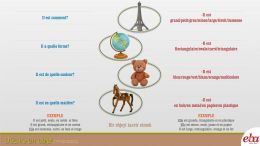 Bir objeyi tasfir etme konulu  infografik anlatım