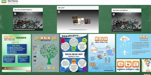 EBA Dijital Tanıtım Panomuz yayında