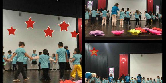 Yıldızlar sınıfı Serdivan Özel Eğitim Anaokulu ile bir arada
