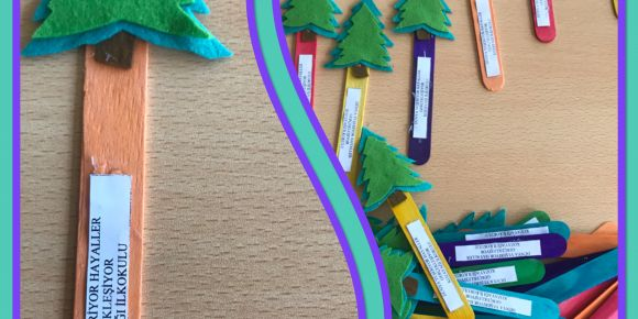 Akyurt Kozayağı İlkokulundan Saray İlkokulu öğrencilerine karne hediyesi