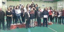 Mahmut Arslan Anadolu Lisesi Badminton Takımının il 2'inciliği başarısı