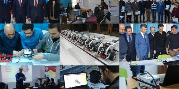 Kodlama ve Robotik Yazılım Eğitici Eğitimi Kursu Tamamlandı.