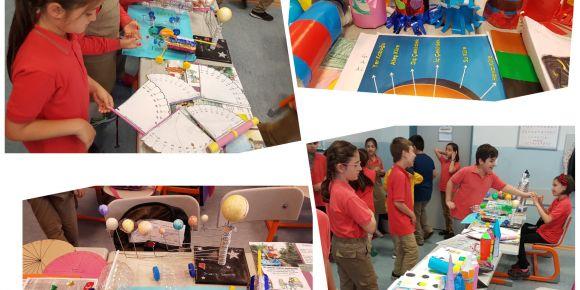 3/B sınıfı yıl sonu proje sergisi