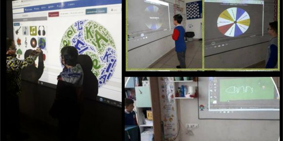 Alparslan İlkokulu 1/A sınıfı Web 2.0 ile ilkokuma yazma öğreniyor
