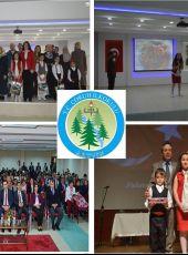 Artvin Çoruh İlkokulu İstiklal Marşı Güzel Okuma Yarışması İl ikincisi