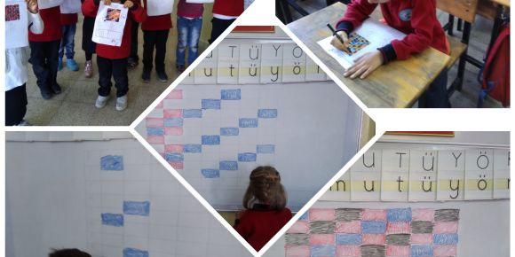 Jale Necdet Özbelge İlkokulu 1/A sınıfı kodluyor