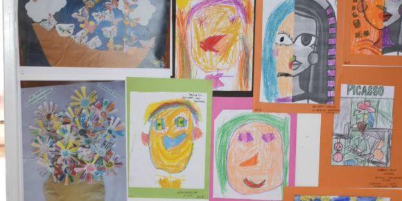 Küçük Kübik Ressamlar final sergisi yapıldı