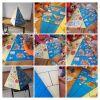 Öğrenciler sağlıklı ve dengeli beslenmenin önemini besin piramidi yaparak öğrendiler