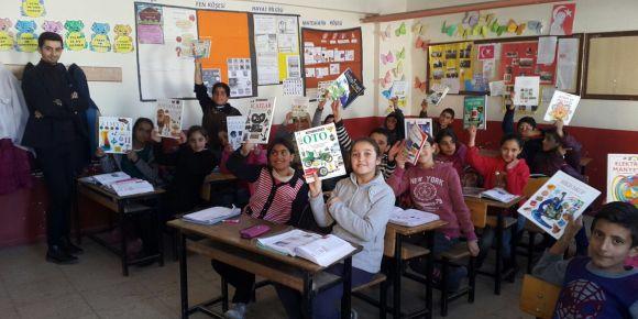 Van Başkale Özpınar Köyü Ortaokulundan İstanbul Kadıköy Lisesi'ne teşekkür