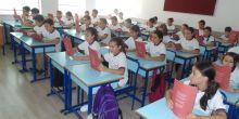 100.Yıl Mehmetçik Ortaokulunda 15 Temmuz Milli İrade Destanı kitapçığı dağıtılması