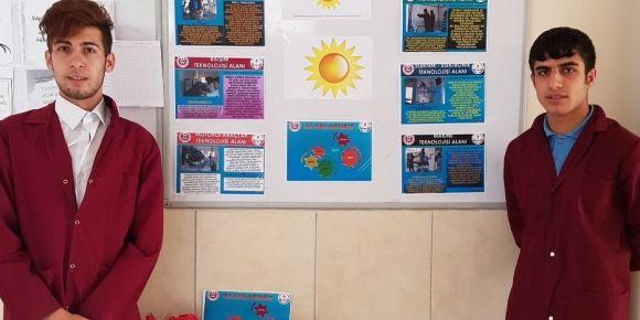 Besni Osman İsot Mesleki ve Teknik Anadolu Lisesi Meslek Güneşim Projesini tamamladı