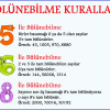 5, 6 ve 8 ile Bölünebilme Kuralları Afişi