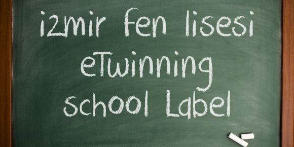 İzmir Fen Lisesi eTwinning okulu etiketi aldı...