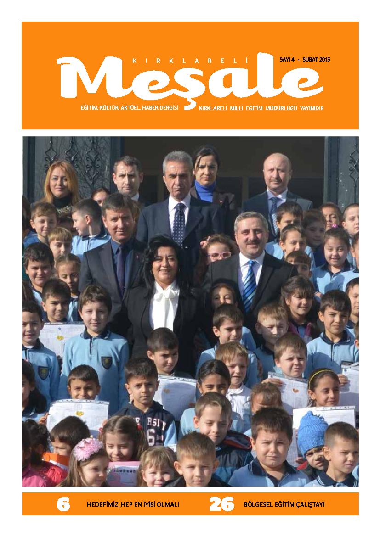 Meşale dergisi 2015 Şubat Sayısı