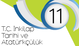 2017- 2018 Yılı T.C İnkılap Tarihi ve Atatürkçülük Dersi Kazanım Kavrama Testleri (11.Sınıf)