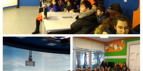 TEB Ataşehir Ortaokulu İTÜ Nükleer Enerji Merkezi'nde