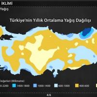 Türkiye'nin İklimi - Türkiye'de İklim Elemanları - Basınç, Rüzgarlar, Nemlilik ve Yağış