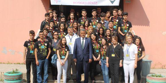 Çobanoğlu M. T. A. Lisesi  2017 Tübitak 4006 bilim fuarı