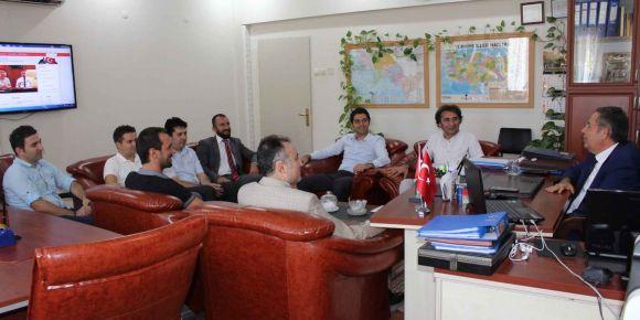 Bilişim teknolojileri rehber öğretmenleri ile toplantı yapıldı