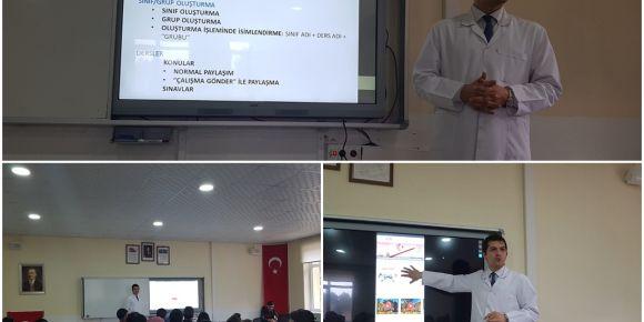 Daday ÇPAL Öğrencilerine EBA-Ders Hakkında Bilgi Verildi