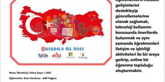 Samsun 23 Nisan Ortaokulu öğretmenleri yarıyıl tatilini eğitimle değerlendirdi.