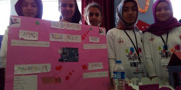 Önsen Ortaokulu TÜBİTAK 4006 Bilim Fuarını Gerçekleştirdi