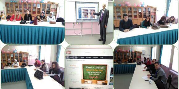 Bursa Yıldırım Karapınar İlkokulunda  EBA tanıtım semineri yapıldı