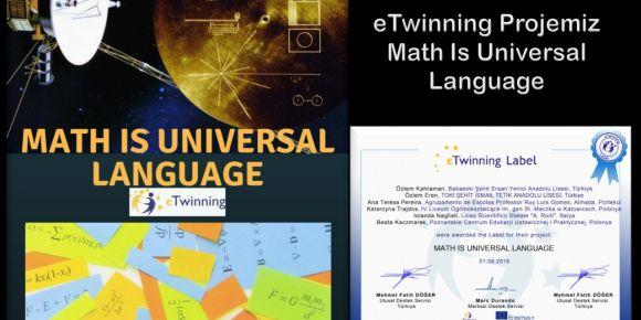 Math is universal language projesi faaliyetlerine başladı