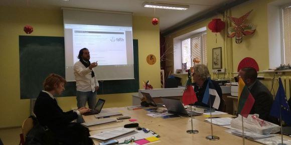 FATİH Projesi Litvanya'da Avrupalı Eğitimcilere tanıtıldı